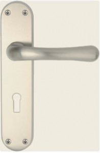 Genoa Satin Nickel lock