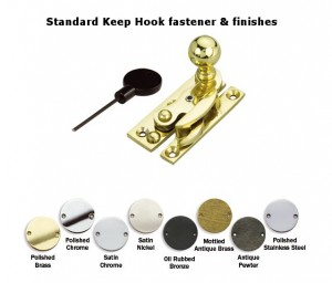 Narrow Keep Hook Fastener