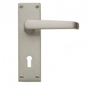 Victorian Satin Nickel lock