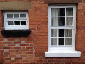 Mock sliding sash timber windows