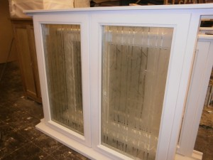 Stormproof wooden windows